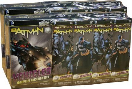 DC HeroClix Miniatures: Batman 18ct Booster Case