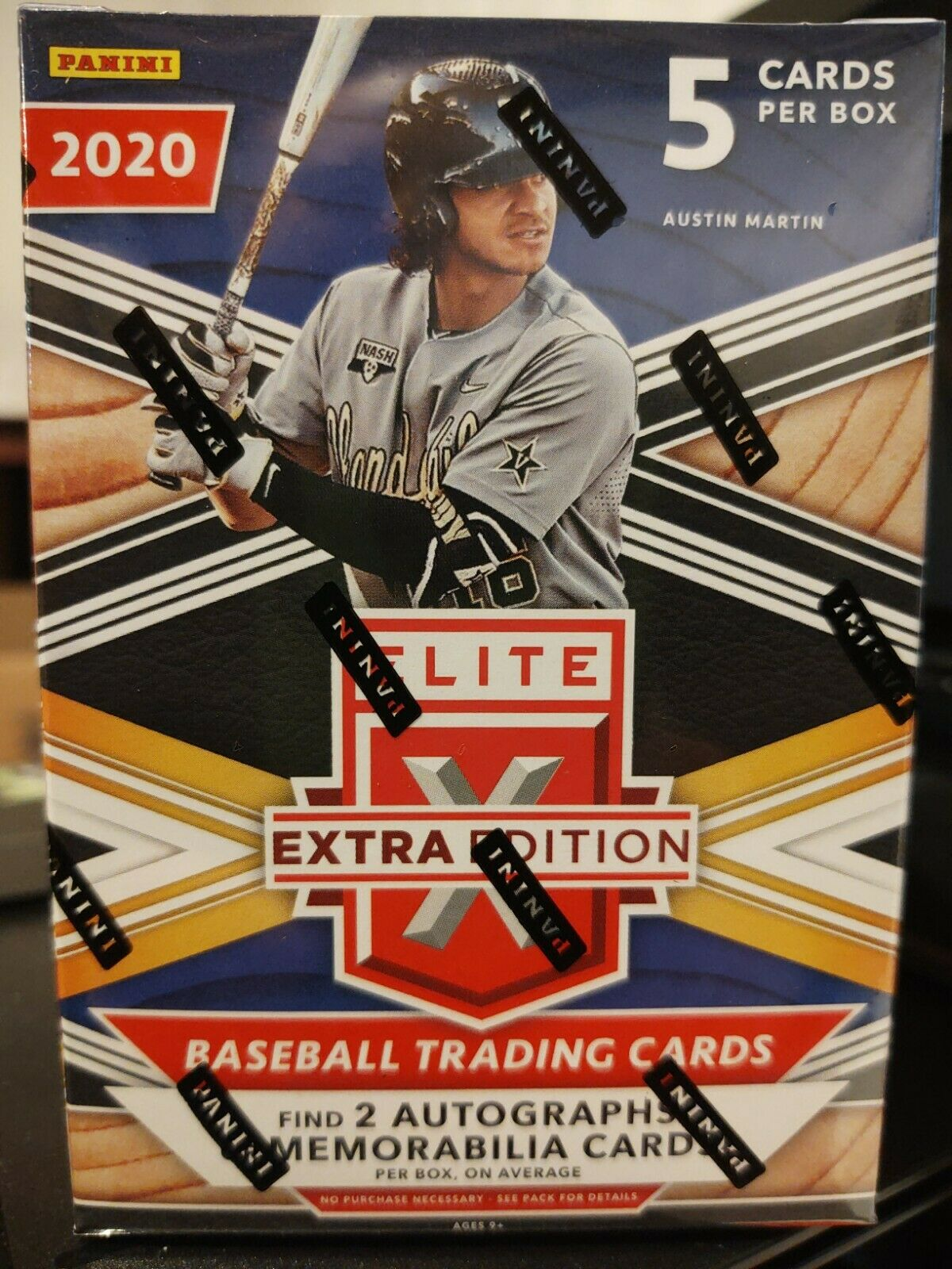 Baseball MLB 2020 Elite Extra Edition Blaster Box