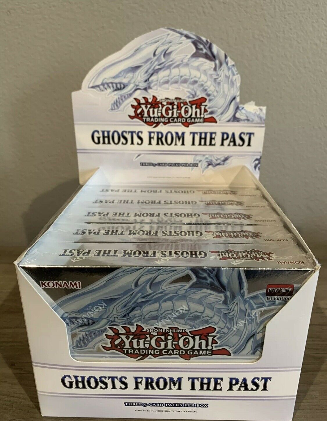 Yu-Gi-Oh! Ghosts from the Past 5ct Display Box