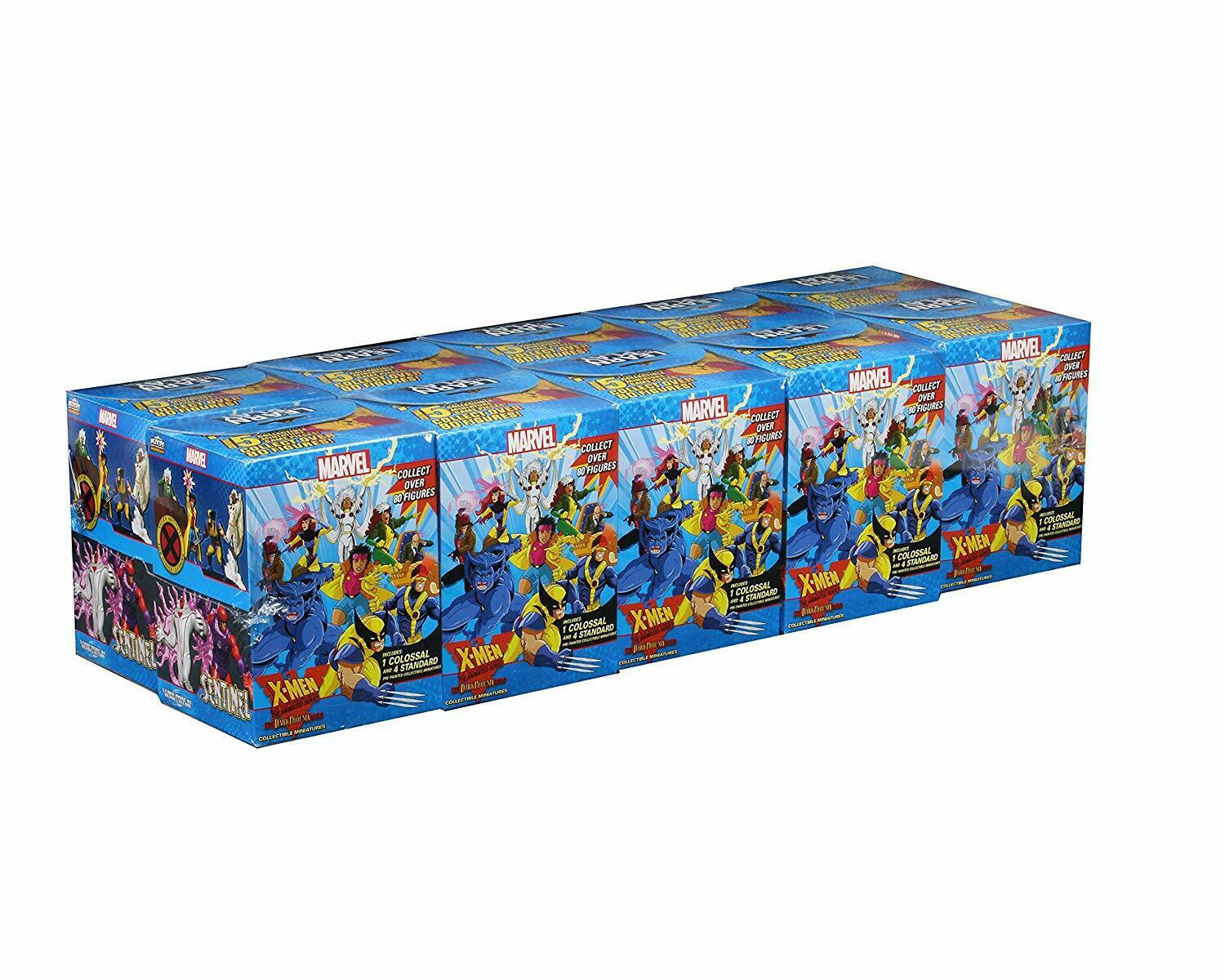 Marvel HeroClix Miniatures: X-Men Animated Dark Phoenix Saga Colossal Booster Case