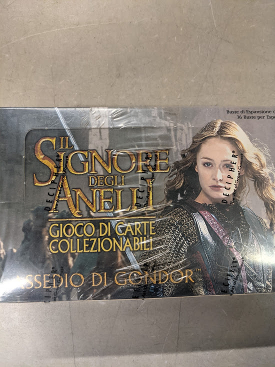 LOTR Siege of Gondor Italian Language Booster Box