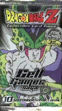 Dragonball Z CCG Cell Games Saga Unlimited Lot of 36 Loose Booster Packs