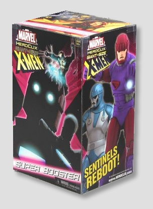 Marvel HeroClix Miniatures: Giant-Sized X-Men Super Booster Pack 4ct Case