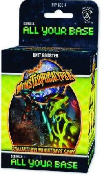 Monsterpocalypse Series 3 All Your Base Unit Booster Case